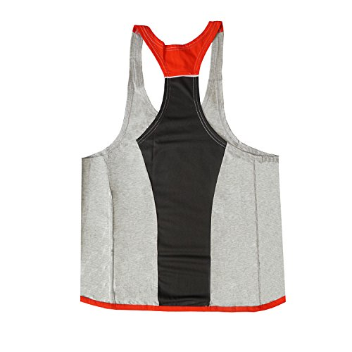 Per Del Red Gli Canotta amp; Gray Fitness Amanti Uomo Sportiva Da Athletic FwSqTIF