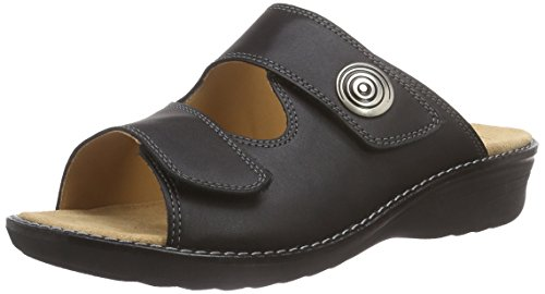 Ganter Women's Hera, Weite H Low-Top Slippers Black (Black 0100)