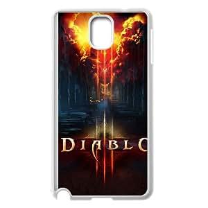 Diablo Diablo Samsung Galaxy Note 3 Cell Phone Case White JN8KK745