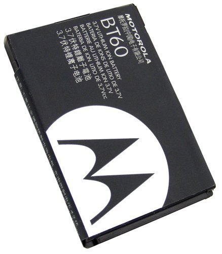 Motorola C290/i580 OEM 1100mAh BT60 Lithium Battery Standard Factory Original One Year Warranty (Motorola I580)