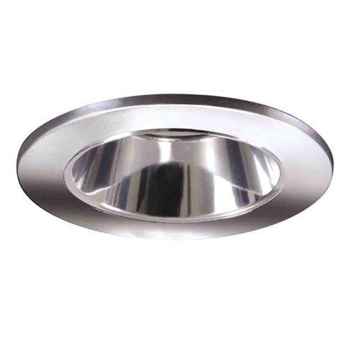 HALO Recessed 3007PCC 3-Inch 15-Degree Lensed Shower Light Polished Chrome Trim with Clear Reflector
