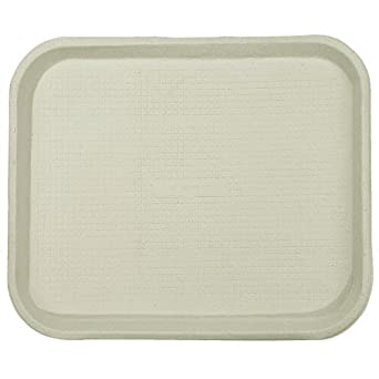 Chinet 20804CT Savaday Molded Fiber Food Trays, 14 x 18, White, Rectangular (Case of 100)