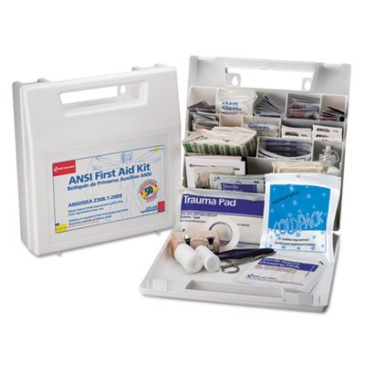 First Aid Kit for 50 People, 196-Pieces, OSHA/ANSI