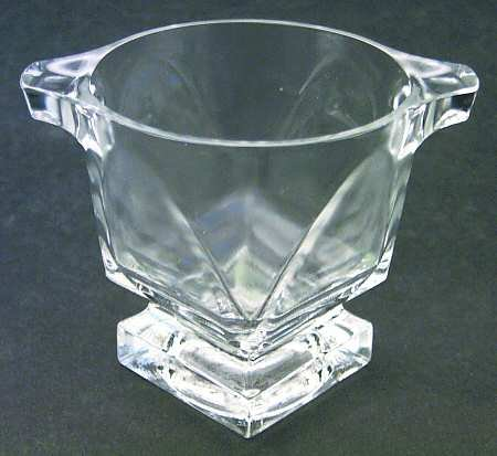 Vintage Fostoria Glass Clear Transition 3-3/8
