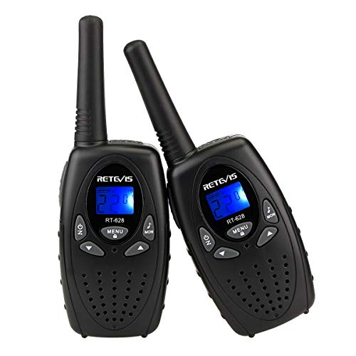 Retevis RT628 Walkie Talkie for Kids VOX Portable 22 Channel FRS Kids Walkie Talkies (Black,2 ()