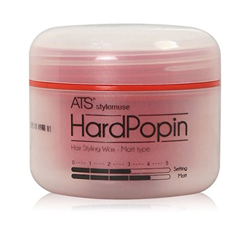 ATS STYLEMUSE HARD POPIN STYLING WAX - Men's and Women's Hair Styling Product Matte Wax Molding Cream Paste Pomade Sculpting Forming Texturizer Putty, Super Strong Hold, Earth Friendly, 100g 3.52oz (Best Hair Styling Products For Women)