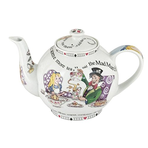 - Alice In Wonderland 32oz Teapot By Cardew Design