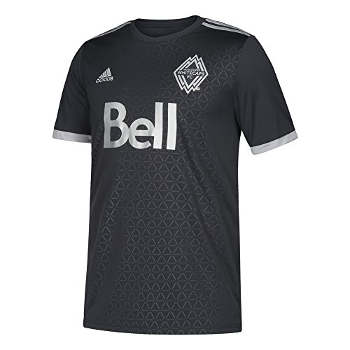 adidas MLS Vancouver Whitecaps Youth Replica Jersey, Large, Dark Grey ()