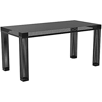Amazon Com Novogratz Iconic Modern Metal Coffee Table