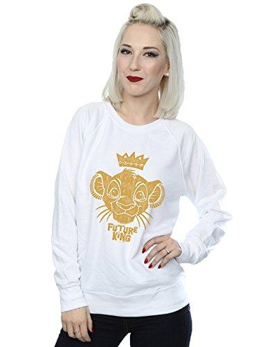 De Disney Blanco King Mujer Entrenamiento Future Camisa Lion The rqqRxwYUa