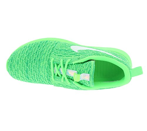 Nike Wmns Roshe Nm Flyknit Women Lifestyle Casual Sneakers New Voltage Green