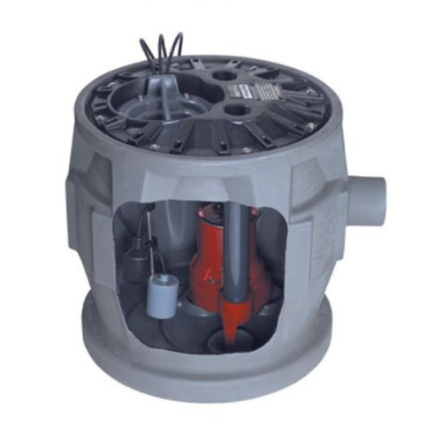 Liberty Power Filter - Liberty Pumps P382LE41 Pro380 Series Simplex Sewage System