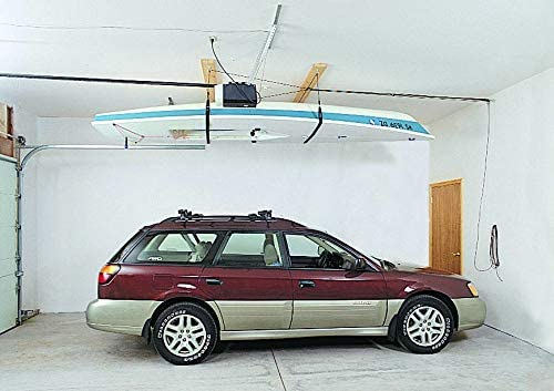 HARKEN SUP 8:1 Mechanical Advantage Hanger Single-Person and Kayak Garage Storage Ceiling Hoist Canoe Easy Lift Pulley Boat Paddleboard 4 Point System