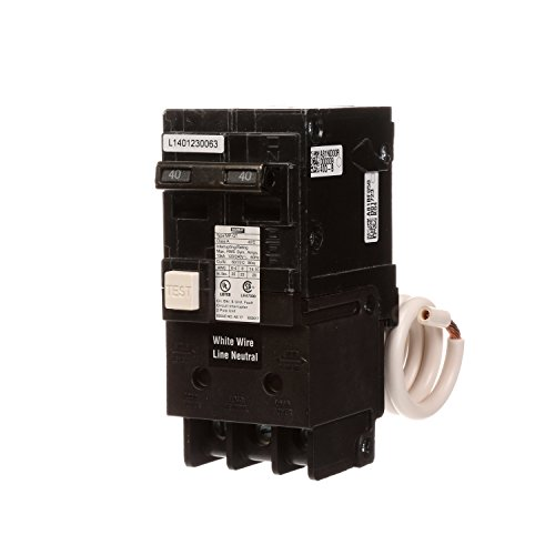 Murray MP240GFA 40 Amp 2-Pole Gfci Circuit Breaker with Self Test & Lockout Feature by Murray