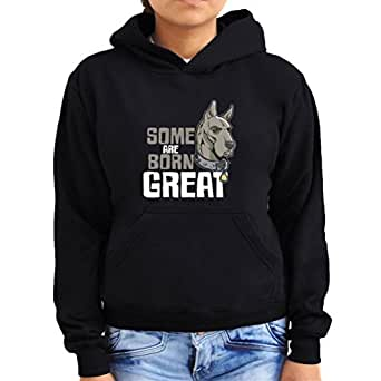 Great Dane some are born great Women Hoodie
