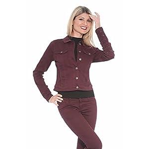 Suko Jeans Women's Trucker Jacket – Stretch Denim