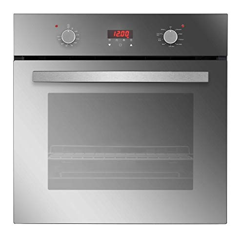 Empava 24″ 9 Cooking Functions Push Button and Digital Control Built-in Convection Single Wall Oven EMPV-B17LTL