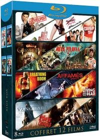 Blue Box Collection (12 Films) - 8-Disc Box Set ( Cougar Club / Bridal Fever / I-See-You.Com / Jack Brooks: Monster Slayer / Grizzly Park / Mega Piranha / Hunger [ Blu-Ray, Reg.A/B/C Import - France ]
