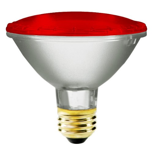 Red And Green Flood Light Bulbs - 6