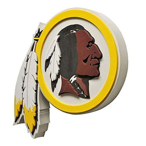 NFL Washington Redskins 3D Foam Wall Sign ()