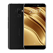 "Ulefone S8 Pro Smartphone 4G Android 7.0 (MTK6737 Quad Core 1.3GHz, 5.3"" IPS HD Schermo, 2GB RAM 16GB ROM, 5MP+5MP+13MP Camera, Fingerprint ID, Dual SIM, 3000mAh Batteria) Oro"