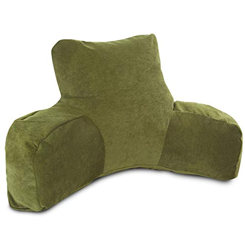 Majestic Home Goods Villa Reading Pillow, Fern