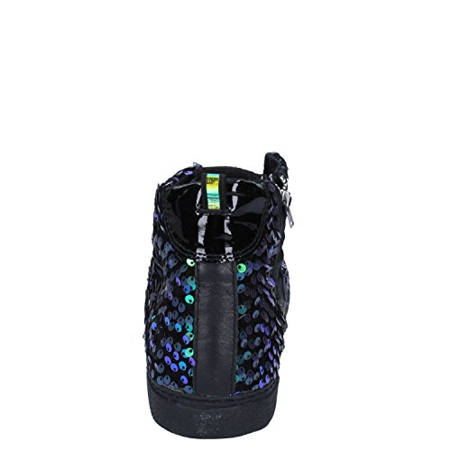 D.A.T.E. Date Sneakers Donna 37 EU Nero Paillettes Pelle Gomma