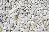 Gravel, Decorative, Dolomite, white quartz, pea gravel, bulk quantity