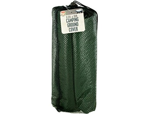 Tarp Case - K&A Company Camping Ground Cover Tarp Tent Sheet Waterproof Shelter Case of 12