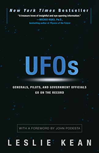 UFOs: Generals, Pilots, and Government Officials Go on the Record cover