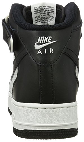 Scarpe 1 Mid Basket '07 Black Summit Force Nike Black da Uomo White Air Nero xEfZaXFwnq