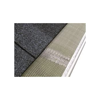 Leafsout 5 wide diy micro mesh rain gutter guard system 100 5 small hole speed screen gutter guardgutter protectionleaf protection 200ftbox solutioingenieria Image collections