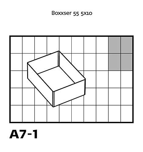 4 Piece raaco 136471 55 A7-1 Insert