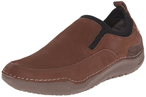 Hush Puppies Heren Crofton Methode Instapper Bruin Leer