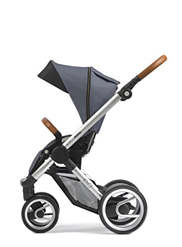 Mutsy Evo Industrial Edition Stroller, Grey with Silver Chassis by Mutsy (Image #1)