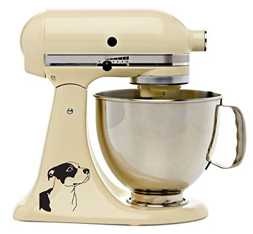 Pitbull Lovers Kitchenaid Mixer Decal - Mixing Machine De...