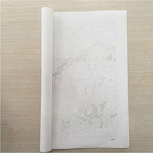 Diy Pintura Al /Óleo Por Kits De N/úmeros,Lienzo Pintura Al /Óleo Madrid,Calle,Para Adultos Y Dibujo Principiante Decoraci/ón Del Hogar 40x50cm