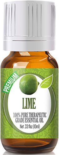 Lime 100% Pure, Best Therapeutic Grade Essential Oil - 10ml (Shaving Lemon Essential Oil)