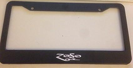 Anwei License Plate Led Zeppelin Metal Frame