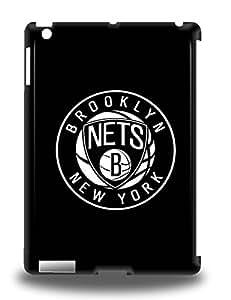 Premium NBA Brooklyn Nets Logo Back Cover Snap On 3D PC Case For Ipad Air ( Custom Picture iPhone 6, iPhone 6 PLUS, iPhone 5, iPhone 5S, iPhone 5C, iPhone 4, iPhone 4S,Galaxy S6,Galaxy S5,Galaxy S4,Galaxy S3,Note 3,iPad Mini-Mini 2,iPad Air )