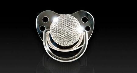 Amazon.com: 3 ct Diamante chupete (278 Pave Set diamantes): Baby