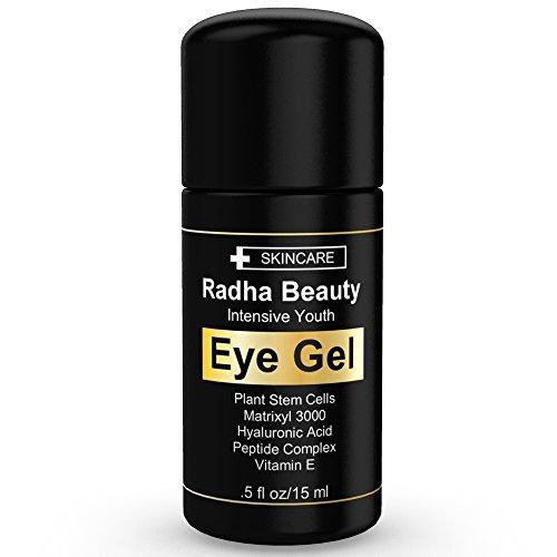 Gel ophtalmique pour Dark Circles, poches, sacs & rides - le gel ophtalmique plus efficace pour chaque œil concernent - All Natural -.5 oz liq
