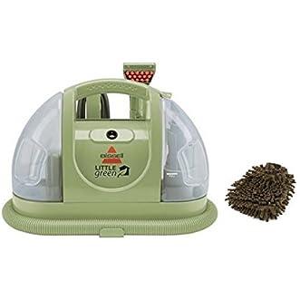 Bissell 1400B Little Green Multi-purpose Portable Compact Deep Cleaner, Carpet (Complete Set) w/ Bonus: Premium Microfiber Cleaner Bundle