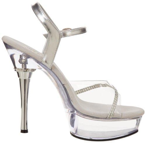 Sandal Clear 650 Pleaser Women's Allure Clear H4qx6fx