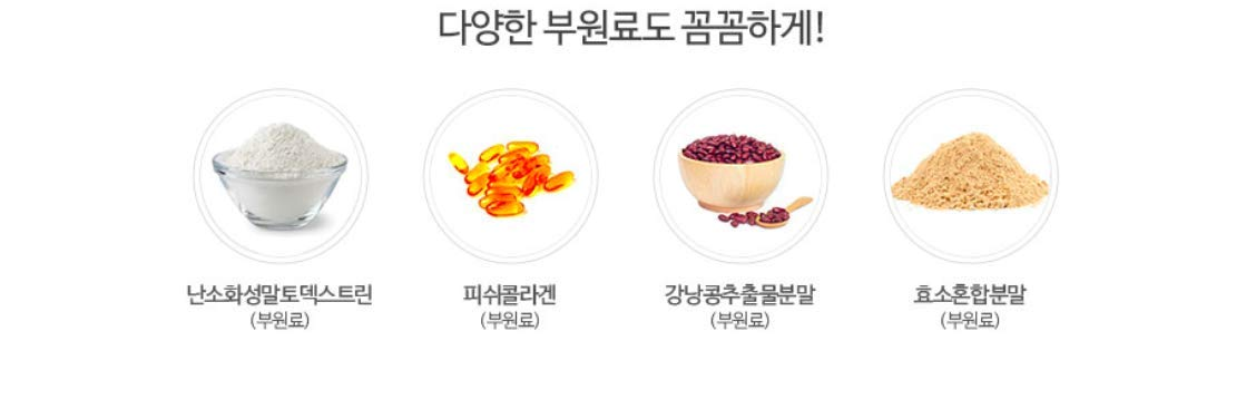 GLAM.D Slim Cut Double Diet 700mg X 45capsule (31.5g)/Import from Korea/for Weight Loss and Healthy Diet by GLAM.D (Image #5)