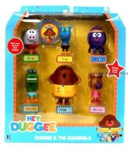Hey Duggee Figure Set-Duggee and the Squirrels (Playsets Canada)