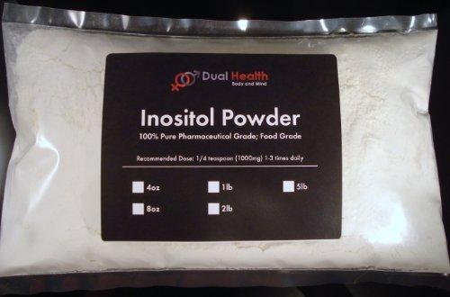 5 фунтов Инозитол порошок (2.27 кг) Чисто Настроение Стресс Тревога энергии Депрессия Детокс USP & FCC Food Grade двойным Здоровье