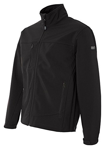 Dri Duck Adult Motion Soft Shell Jacket, Blk, XX-Large