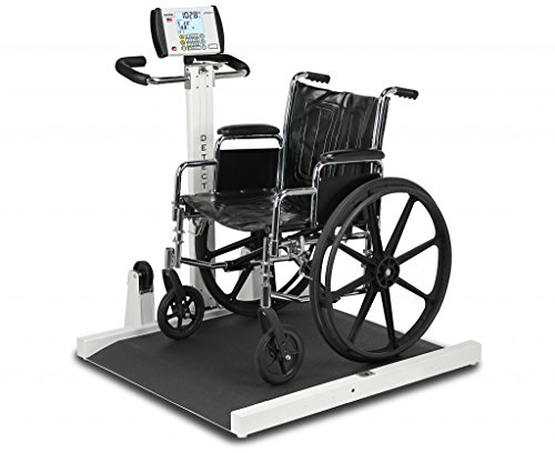 Detecto Portable Wheelchair Scale (Fold Up Portable Wheelchair Scale)