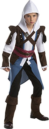 (Assassin's Creed Edward Kenway Classic Teen Costume, Size)